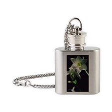 Amazon Lily Flask Necklace