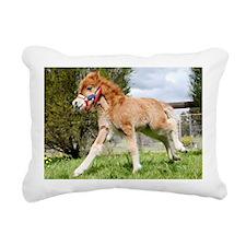 Orphaned Foal - Joy Rectangular Canvas Pillow