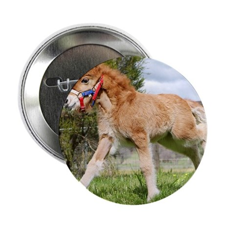 "Orphaned Foal - Joy 2.25"" Button"