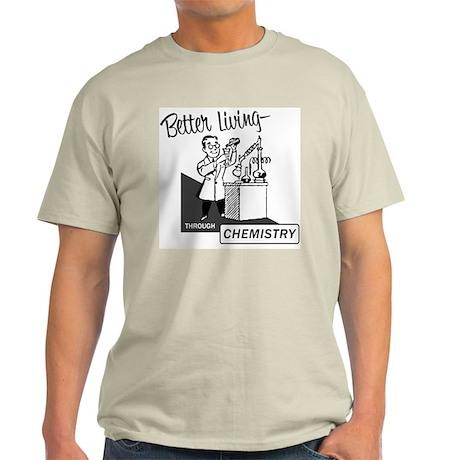 Chemistry Ash Grey T-Shirt