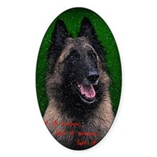 Belgian Sheepdog Decal