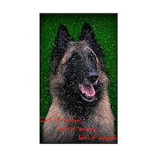 Belgian Sheepdog Decal