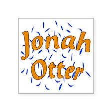 "Jonah Square Sticker 3"" x 3"""