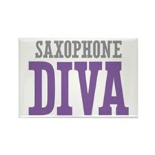 Saxophone DIVA Rectangle Magnet