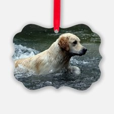 Labradoodle greeting Ornament