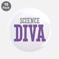 """Science DIVA 3.5"""" Button (10 pack)"""