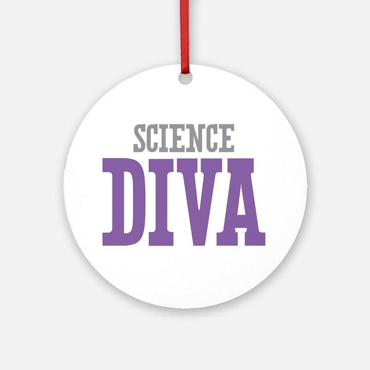 Science DIVA Ornament (Round)