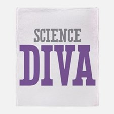 Science DIVA Throw Blanket
