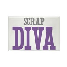 Scrap DIVA Rectangle Magnet