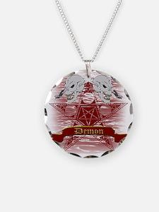 Pentagram and Skull Necklace