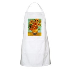 Van Gogh - Still Life Vase with Twelve Sunfl Apron