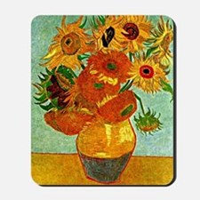 Van Gogh - Still Life Vase with Twelve S Mousepad