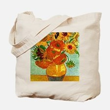 Van Gogh - Still Life Vase with Twelve Su Tote Bag