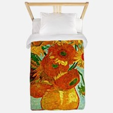 Van Gogh - Still Life Vase with Twelve  Twin Duvet