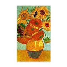 Van Gogh - Still Life Vase with T Wall Sticker