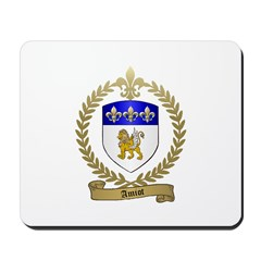 AMIOT Family Crest Mousepad