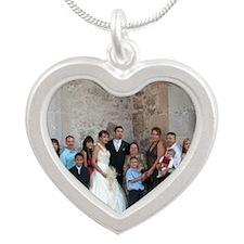 Familia Gonzalez Silver Heart Necklace