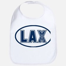 Lacrosse Oval LAX Blue Bib