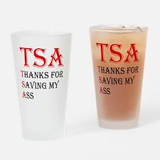 tsa_logo_red_big Drinking Glass