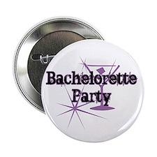 "Bachelorette Party - Purple M 2.25"" Button (10 pac"