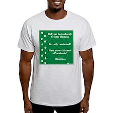 Vaccinosis Ash Grey T-Shirt