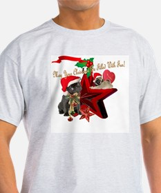 PUGS Christmas Filled With Fun T-Shirt