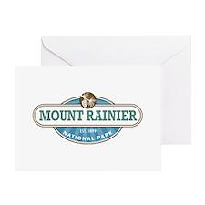 Mount Rainier National Park Greeting Cards