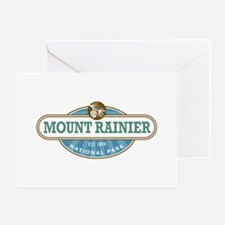 Mount Rainier National Park Greeting Cards
