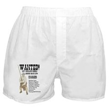 wanted-highlanders001e Boxer Shorts