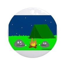 CAMPFIRE LOOK Ornament (Round)