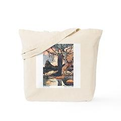 Charles Robinson's Frog Prince Tote Bag