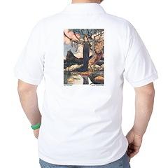 Charles Robinson's Frog Prince Golf Shirt