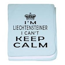 I Am Liechtensteiner I Can Not Keep Calm baby blan