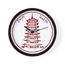 ChineseTakeout Wall Clock