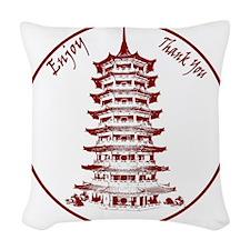 ChineseTakeout Woven Throw Pillow