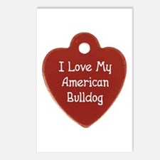 Bulldog Tag Postcards (Package of 8)