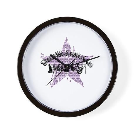 Bachelorette Party - P Star Wall Clock