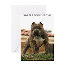 5minutes_vick_lgframed Greeting Card