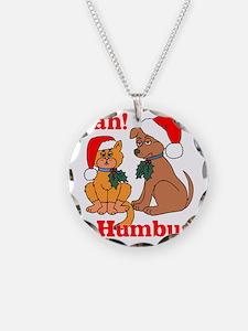 bah humbug.eps Necklace