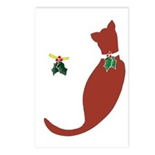 Holiday-Cats Postcards (Package of 8)