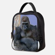 Funny Gorilla funny Neoprene Lunch Bag