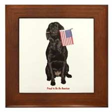 proud american Framed Tile