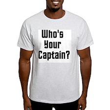 WhosYourCaptain T-Shirt