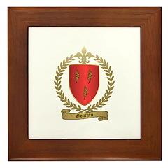GOUTHRO Family Crest Framed Tile