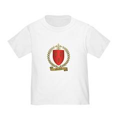 GOUTHRO Family Crest Toddler T-Shirt