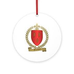 GOUTHRO Family Crest Ornament (Round)