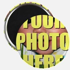 Personalized Circular Image Magnets