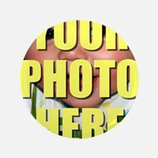 "Personalized Circular Image 3.5"" Button (100 pack)"