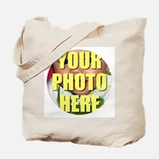 Personalized Circular Image Tote Bag