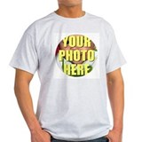 Personalized photo Mens Classic Light T-Shirts